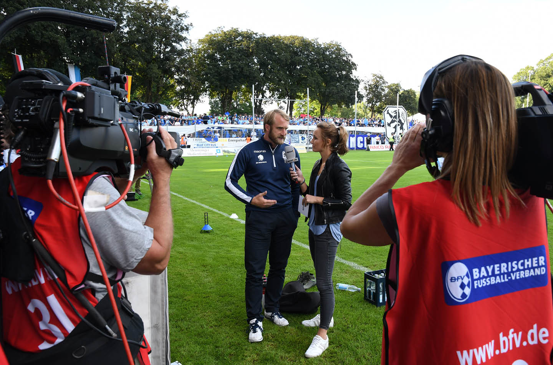 Interview von Nele Schenker für Sport 1
